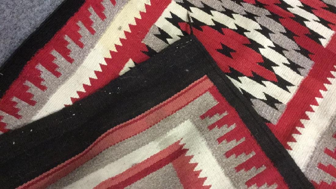 Navajo style entry rug - 3