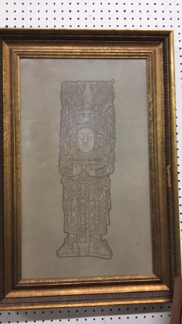 Maya Chief tile artwork.