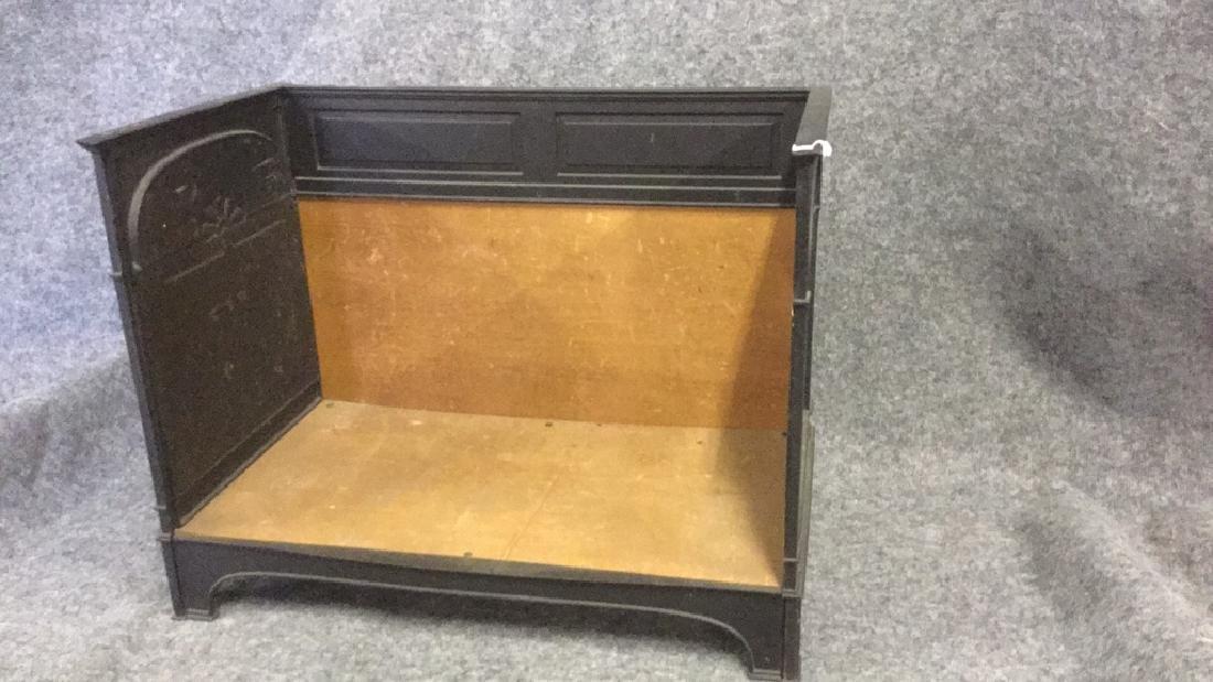 Iron Fireplace log holder