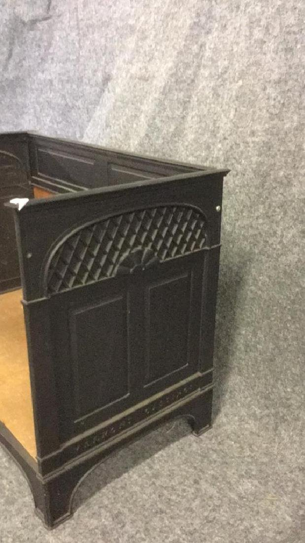 Iron Fireplace log holder - 2