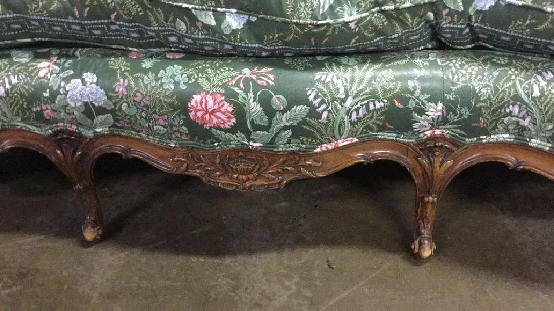 French Victorian sofa - 3