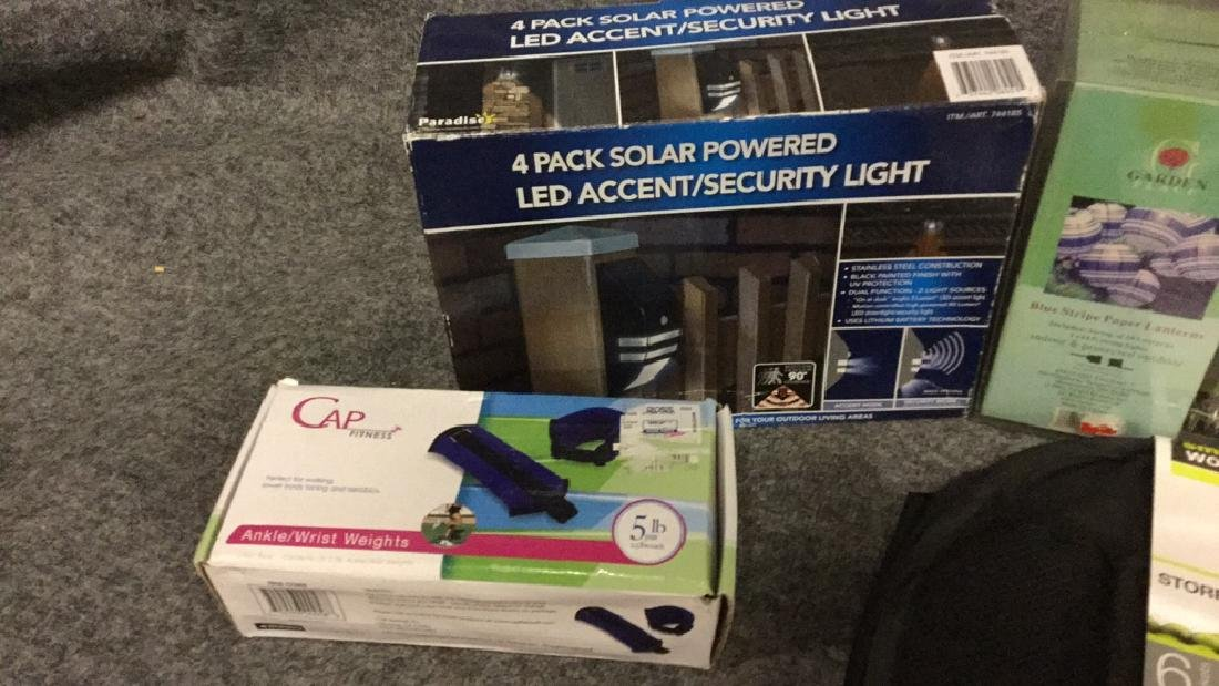 Security lights, weights, and lanterns, etc. - 2