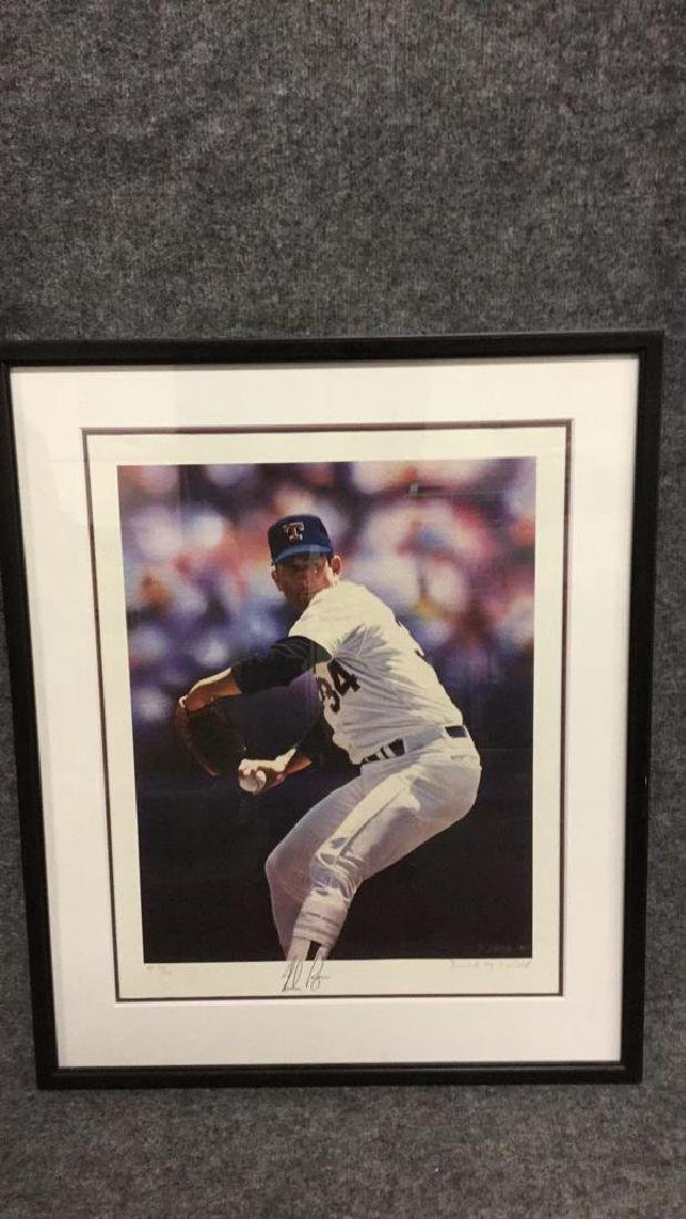 Signed original print a pitcher by D. smith