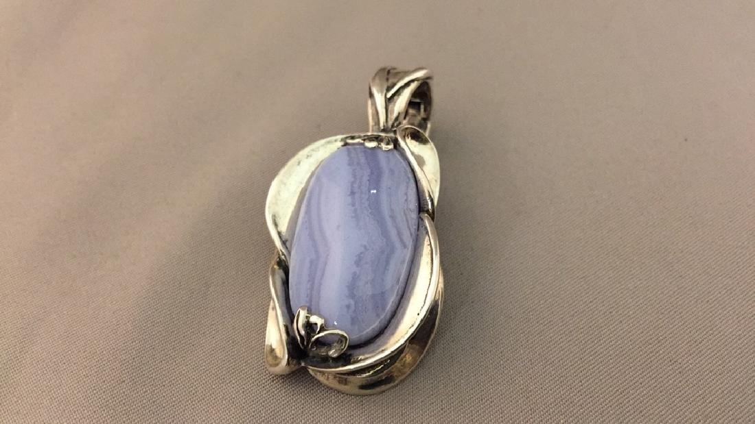 Carolyn Pollock Sterling Pendant, Earrings, & Ring - 2