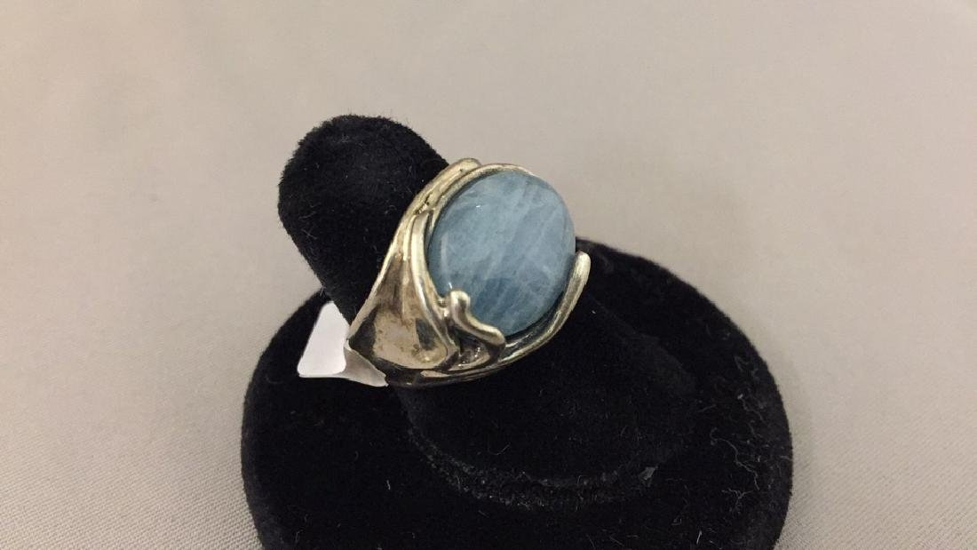 Carolyn Pollock Sterling Pendant, Earrings, & Ring - 4