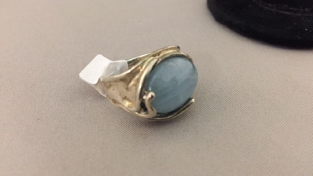 Carolyn Pollock Sterling Pendant, Earrings, & Ring - 5