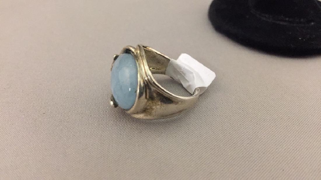 Carolyn Pollock Sterling Pendant, Earrings, & Ring - 6