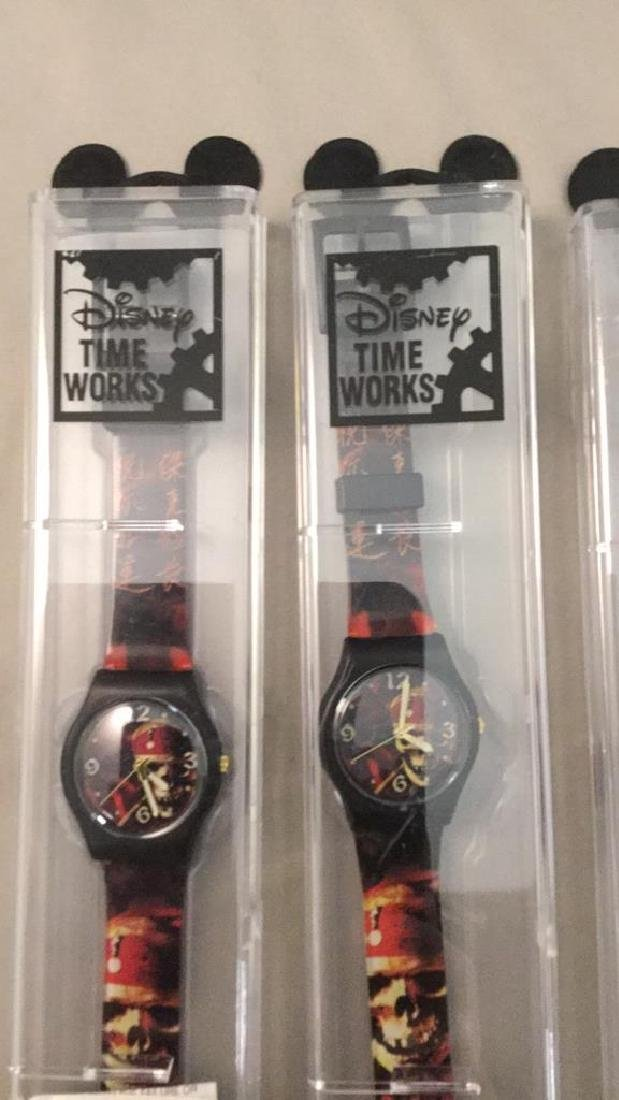 Three Disney Pirates of the Caribbean watches - 2
