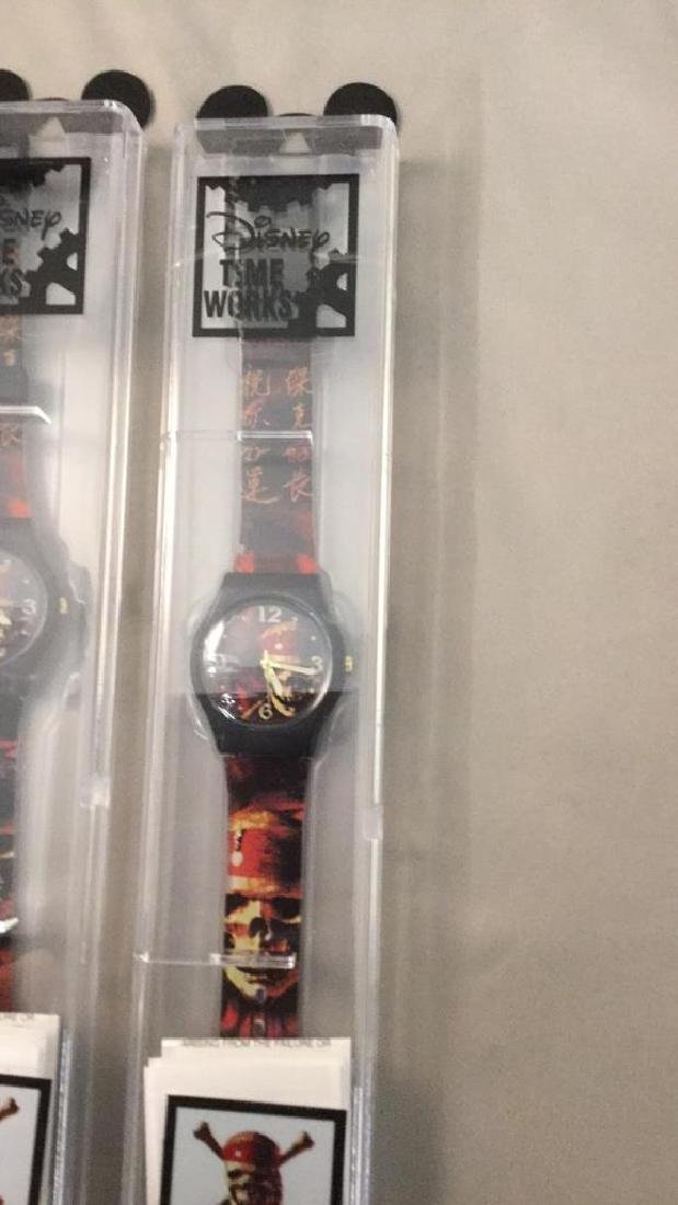 Three Disney Pirates of the Caribbean watches - 3