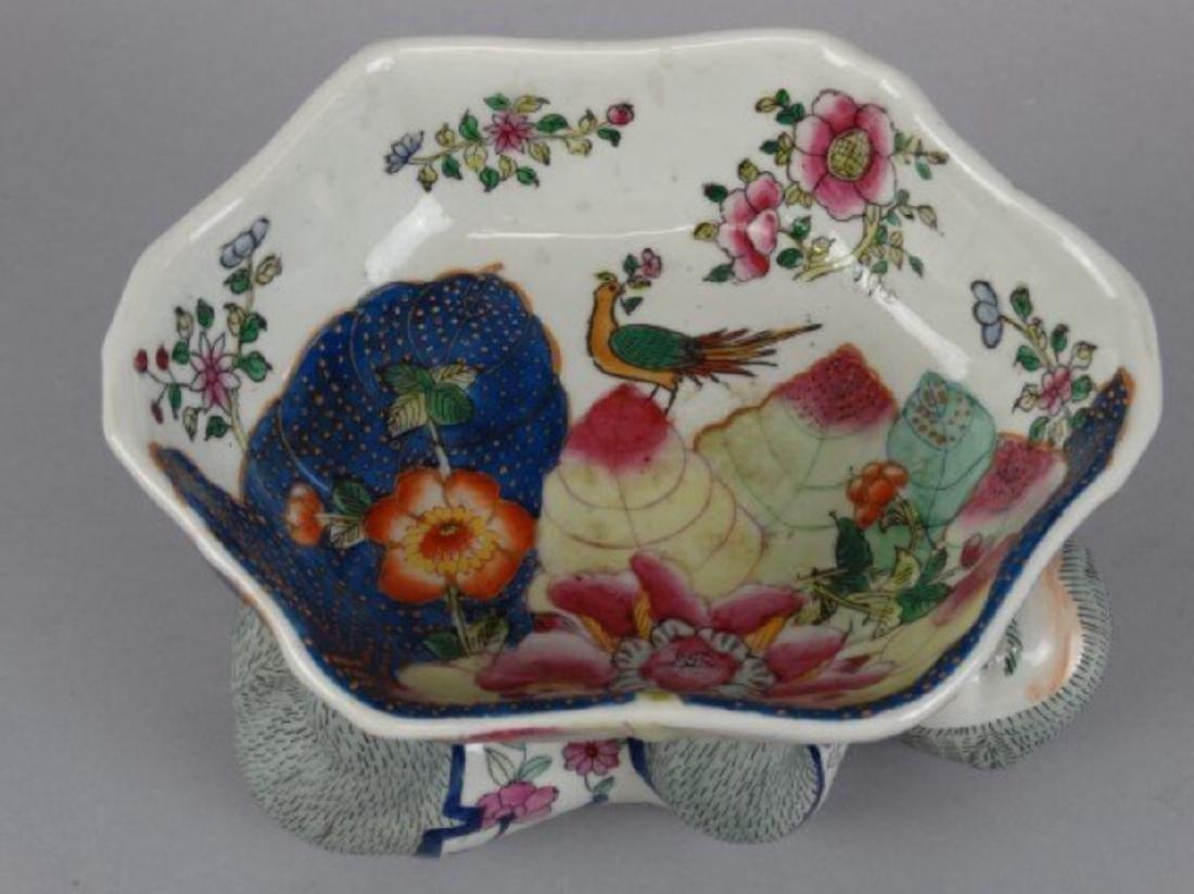 Chinese famille rose monkey bowl - 4