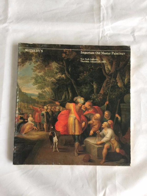 Sotheby's Catalog, Important Old Master Paintings