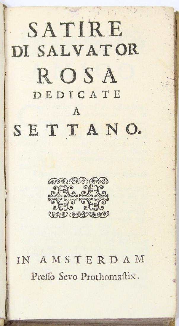 [Literature]ROSA-SATIRE DI SALVATOR ROSA DEDICATE A