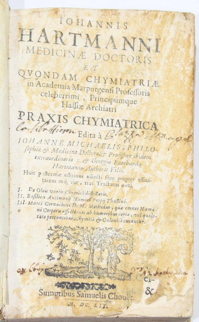 [Medicine]HARTMANN-PRAXIS CHYMIATRICA 1659