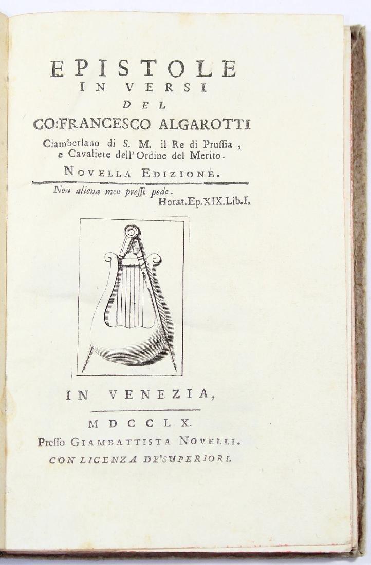 [Poetry]ALGAROTTI-EPISTOLE IN VERSI 1760
