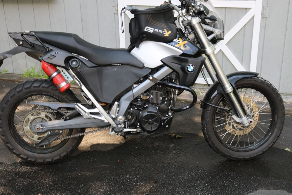 BMW X-Country 650 Motorcycle 2007, 4300 Miles Near Mint