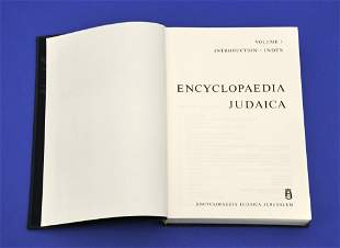 """""""Encyclopedia Judaica"""","""