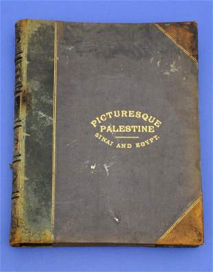 """Picturesque Palestine"","