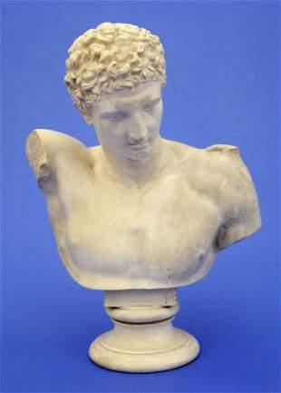 Large Hermes bust