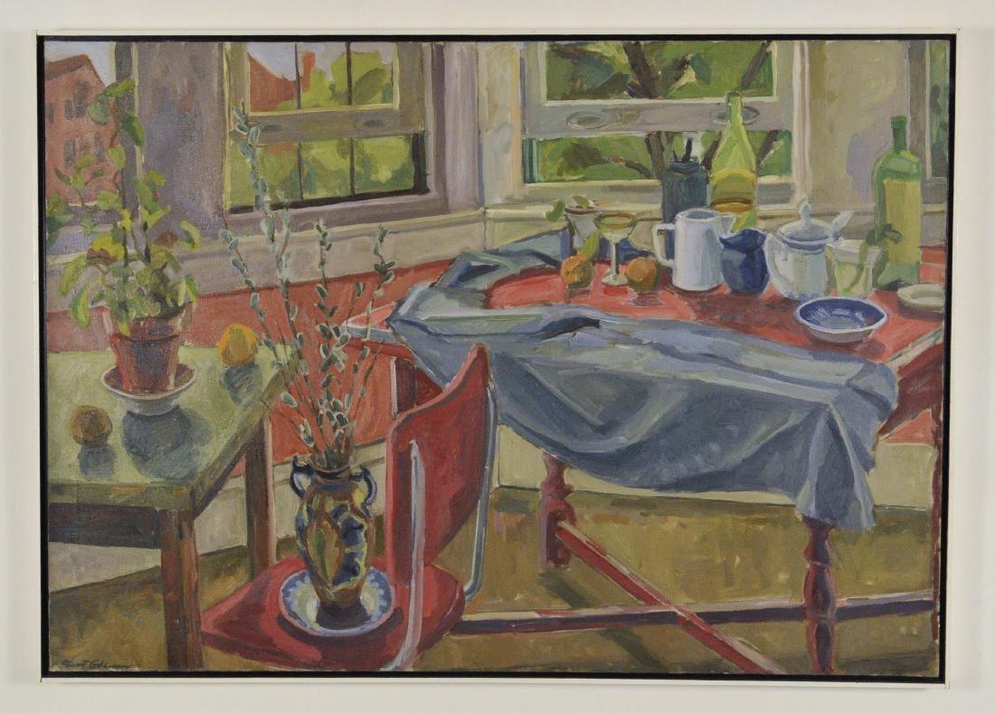 Still Life in Oil by Stewart Goldman
