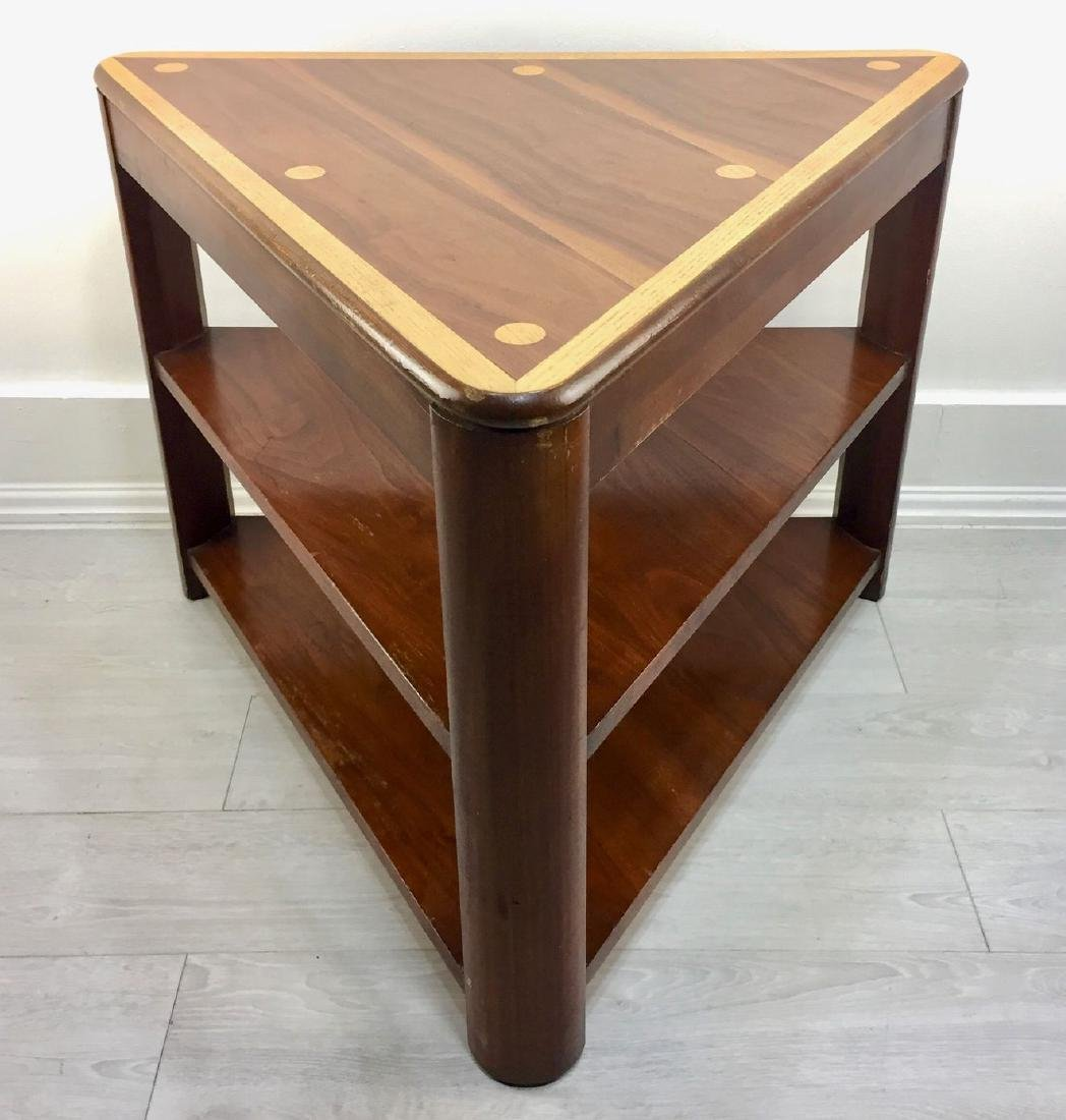 Triangular End Table from Lane Furniture's 1960s