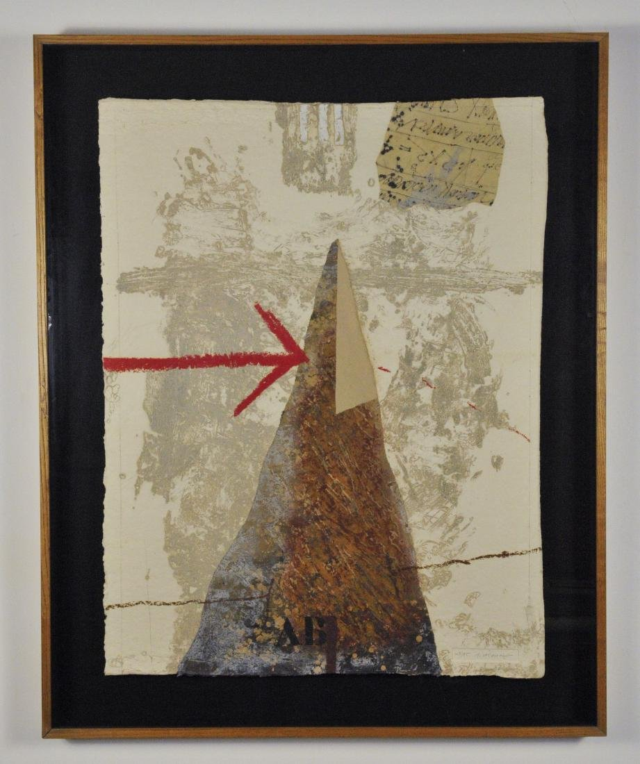 James Coignard_ Carborundum Etching, one of two in a