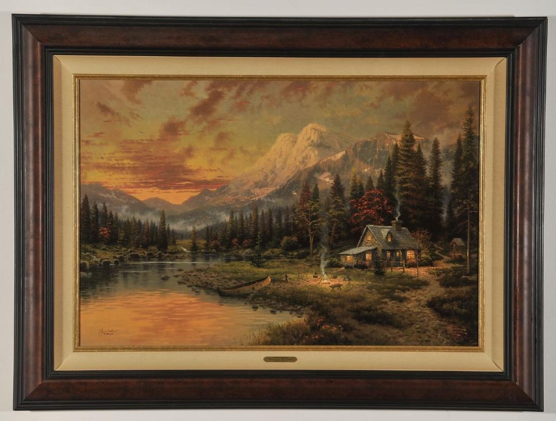 Limited Edition Print of Thomas Kincade Painting