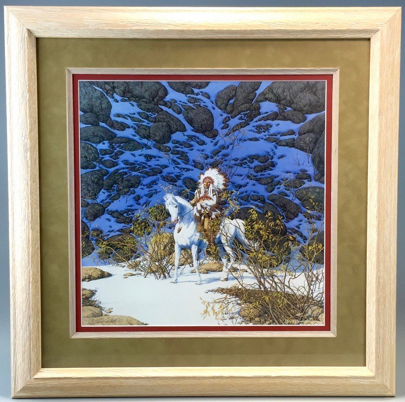 Eagle Heart by Bev Doolittle Art Print