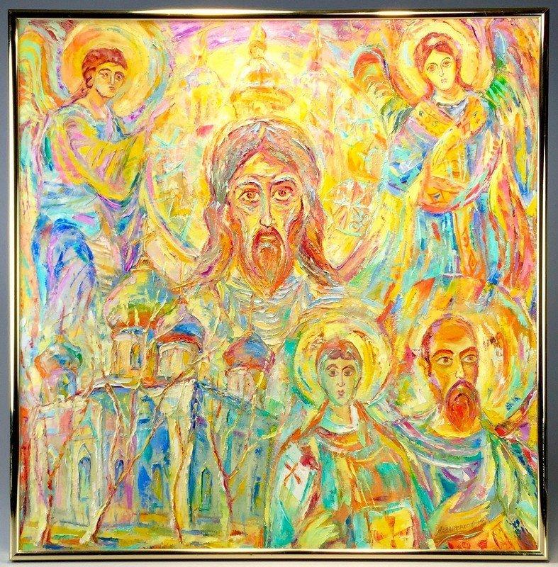 Framed Oil on Canvas by Oleg Lazarenko