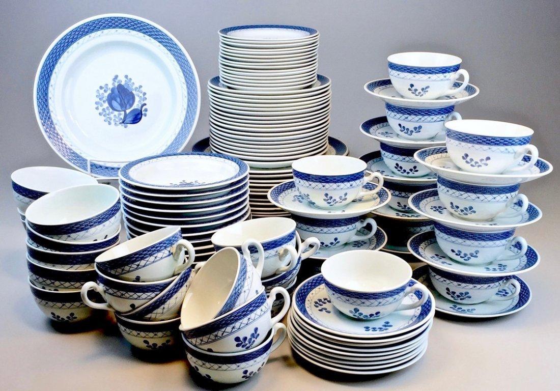 Tranquebar Blue (Rim) by Royal Copenhagen Serving Ware