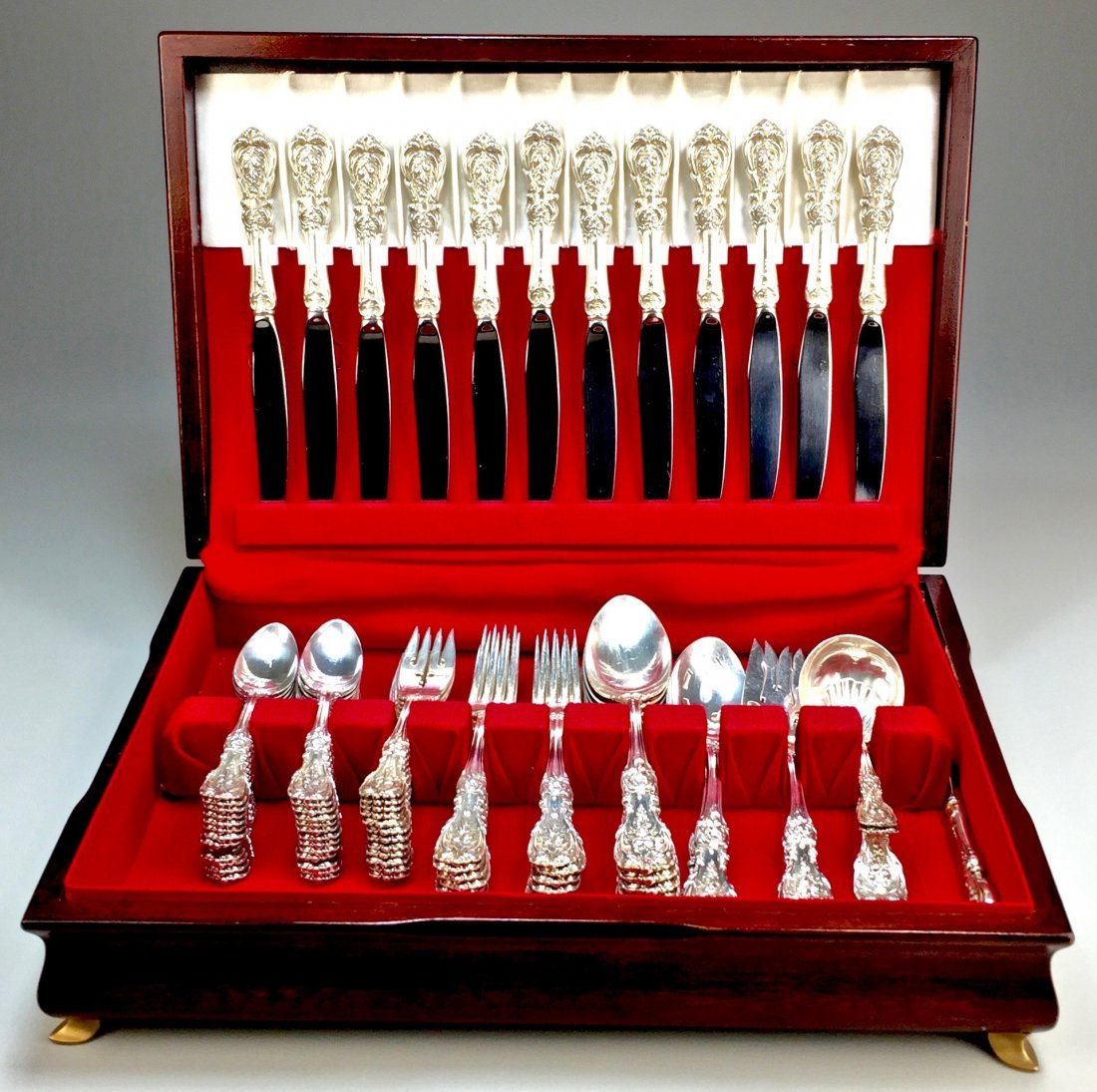 Sterling Reed and Barton Francis I Flatware and Serving