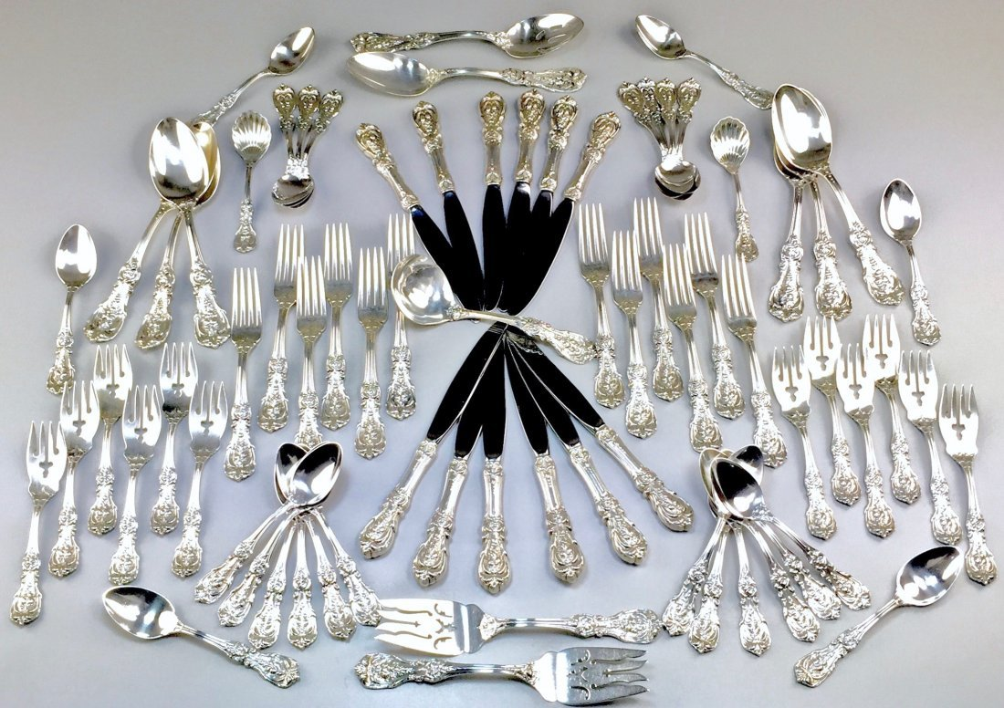 Sterling Reed and Barton Francis I Flatware and Serving - 2