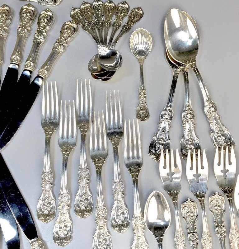 Sterling Reed and Barton Francis I Flatware and Serving - 5