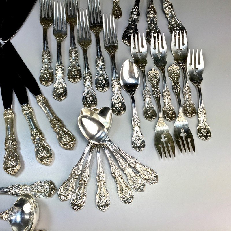 Sterling Reed and Barton Francis I Flatware and Serving - 6