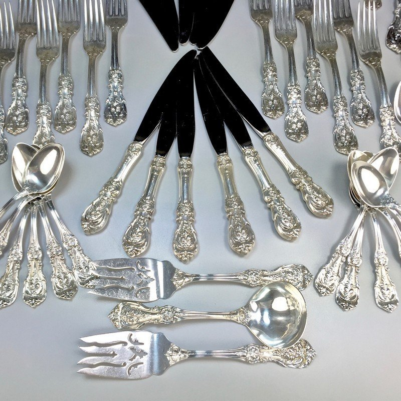 Sterling Reed and Barton Francis I Flatware and Serving - 7