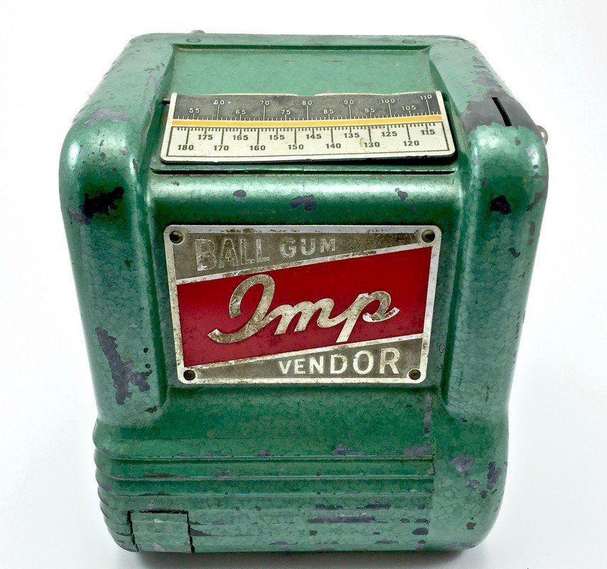 Vintage Groetchen Imp Ball Gum Vendor
