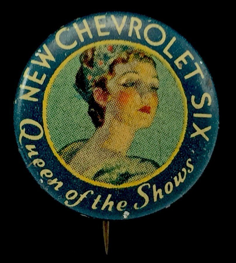 "1930s ""New Chevrolet Six - Queen of the Shows"""