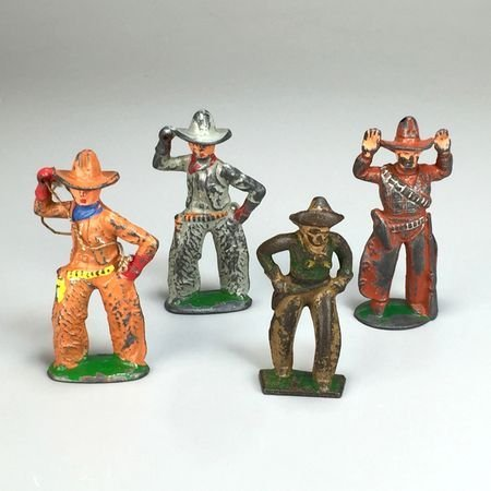 Vintage Barclay/Manoil Cast Lead Cowboys