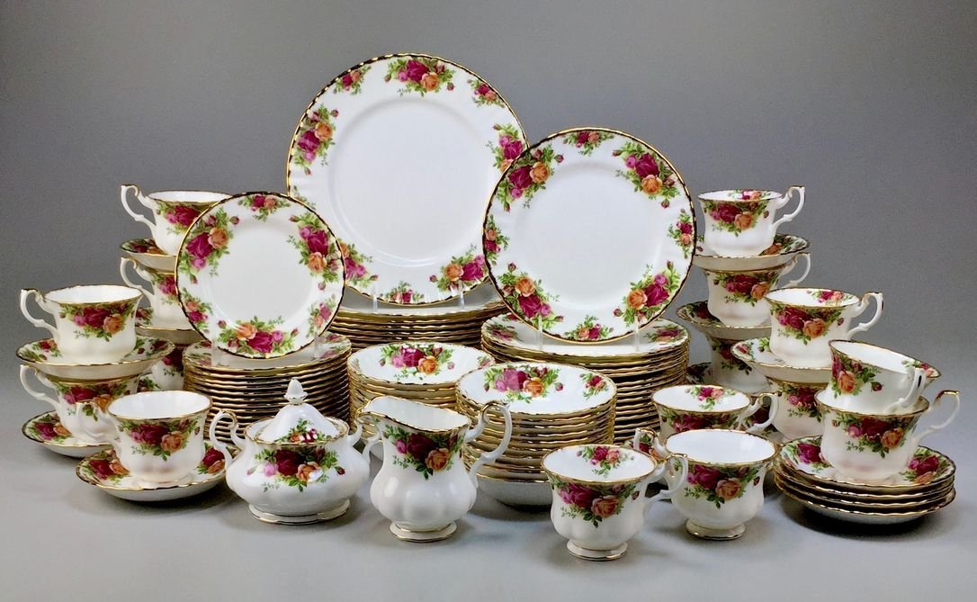 Royal Albert Bone China England Country Rose 5-piece,