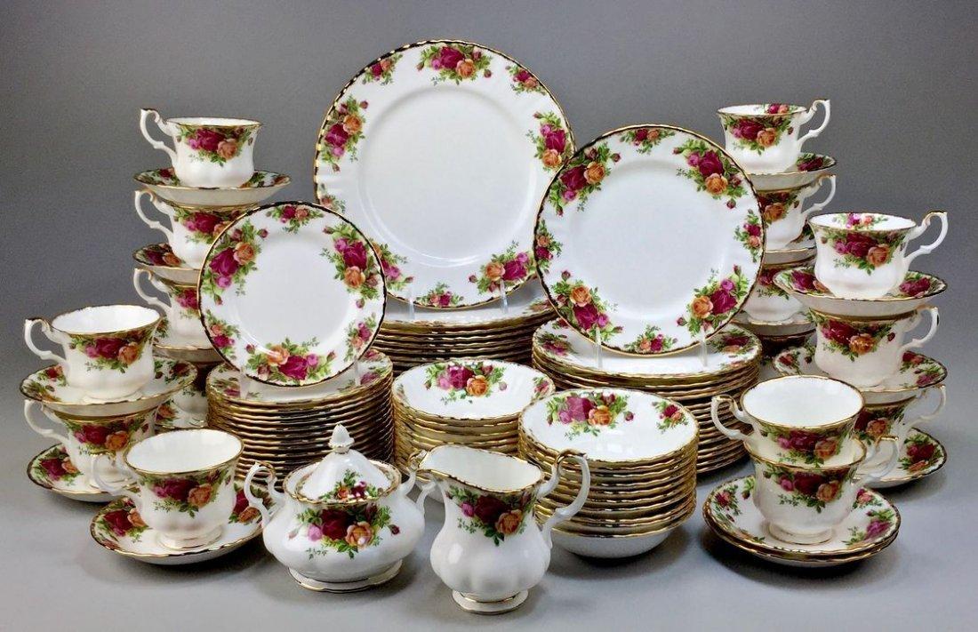 Royal Albert Bone China England Country Rose 5-piece, - 2