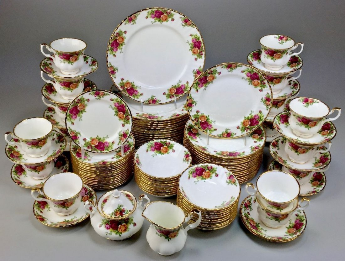 Royal Albert Bone China England Country Rose 5-piece, - 3