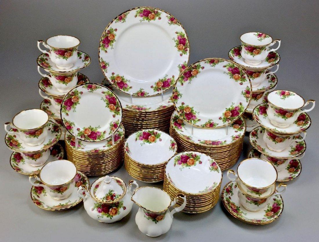 Royal Albert Bone China England Country Rose 5-piece, - 3