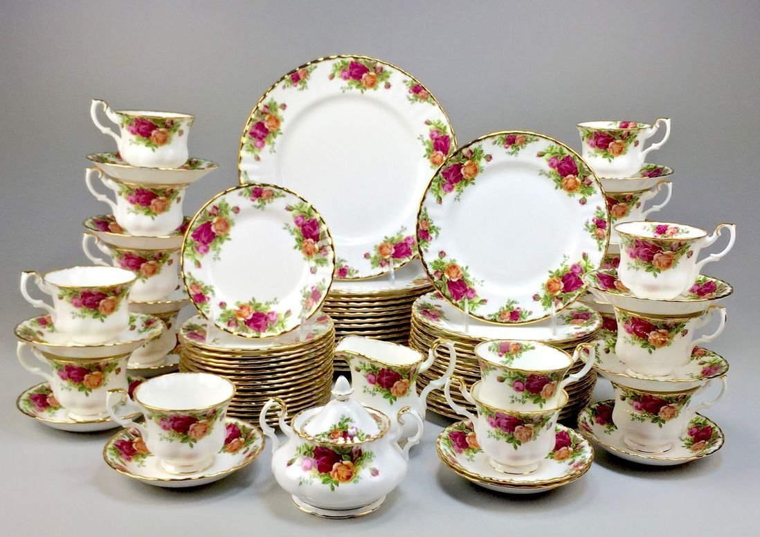 Royal Albert Bone China England Country Rose 5-piece, - 4