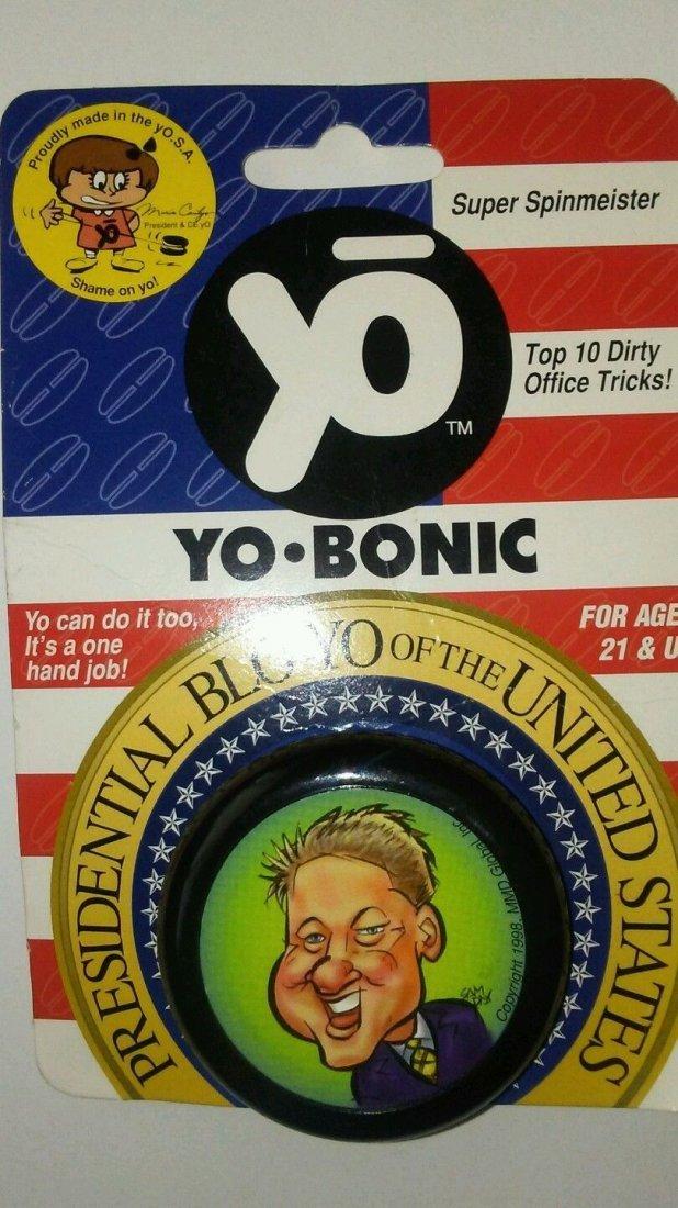 Yobonic Presidential Blo Yo Gag Yo Yo Bill Clinton