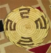 Native American Papago Tohono O'odham Basket