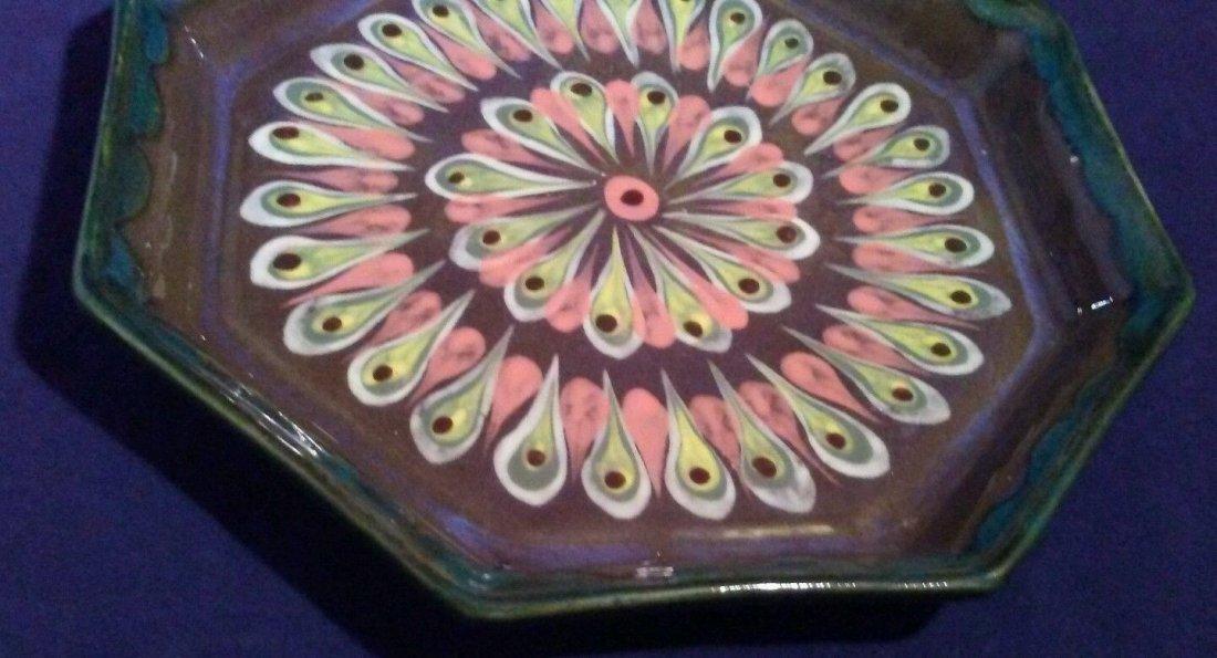 Ken Edwards El Palomar El Palopo Ceramic Pottery Plate - 2