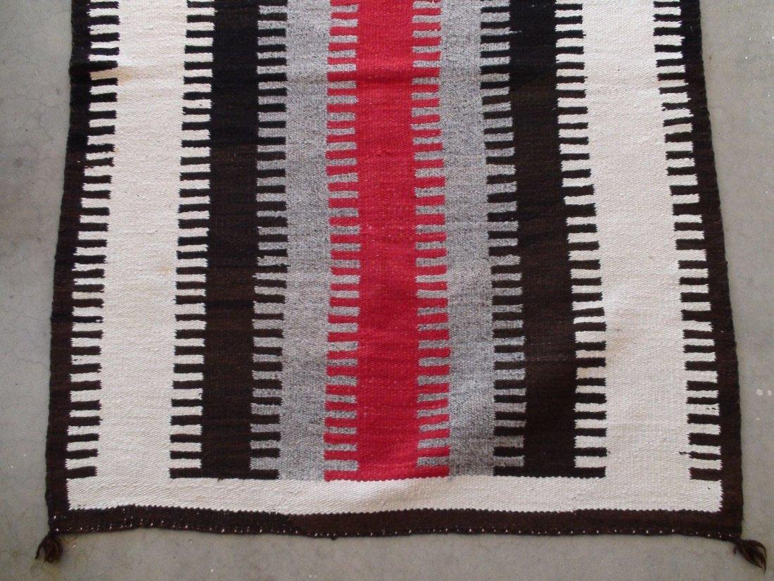 Antique Native American Navajo Rug Blanket - 8