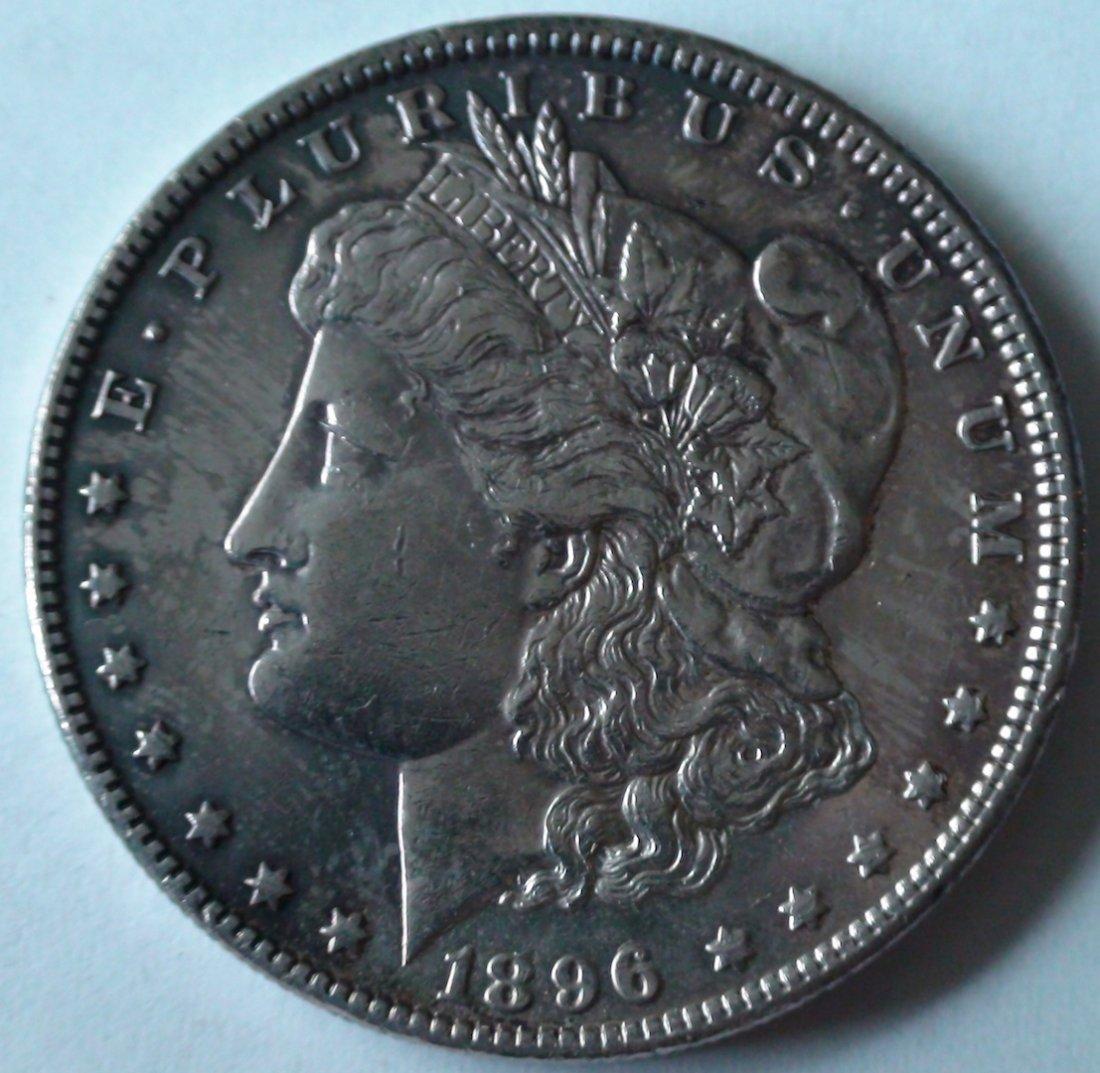 1896 Morgan Silver Dollar United States High Grade