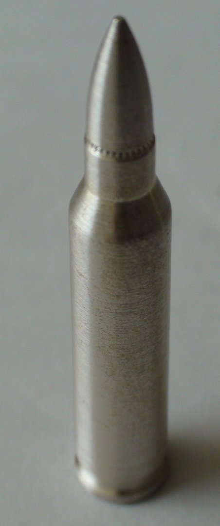 One Troy Ounce .999 Solid Silver Bullet
