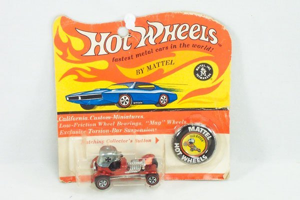 1: Hot Wheels Red Line 6400 Red Baron