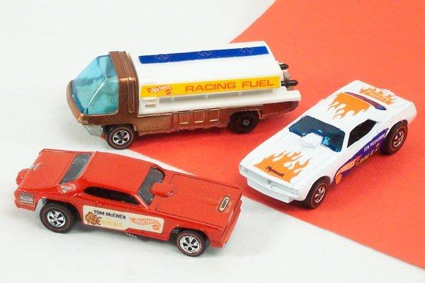 20: 3 Hot Wheels Red Line Fuel Tanker Mongoose
